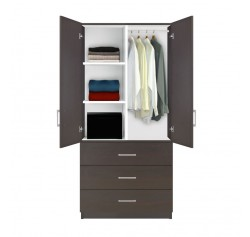 Alta Wardrobe Armoire 3 Drawer Wardrobe