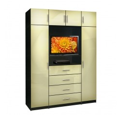Aventa Bedroom TV Armoire X-Tall