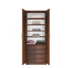 Bella Wardrobe Armoire - Modern Bedroom Storage