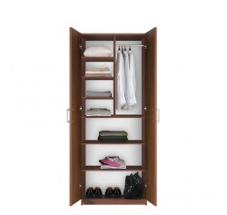 Bella Wardrobe Storage Armoire - Modern Wardrobe Storage