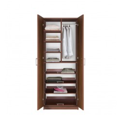 Bella Supreme Wardrobe Storage - 7 Foot Closet with Sliding Shelves
