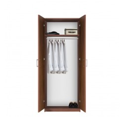 Bella Wardrobe Closet - Long Hanging Luxury Closet with Top Shelf