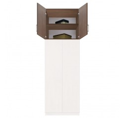 "Extend Your Height +34"" - Bella Wardrobe Storage Topper Double Door"