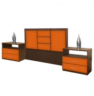 Broadway King Size 3 Piece Bedroom Set