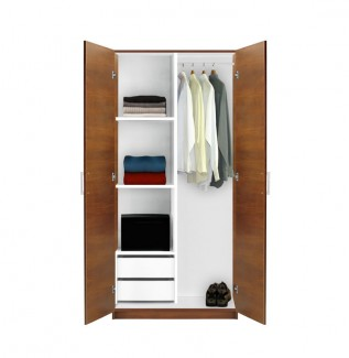 Alta Wardrobe Closet Half And