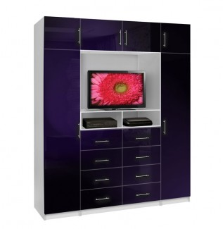 Aventa TV Chest X-Tall - Chest with TV Space and Cabinet Doors