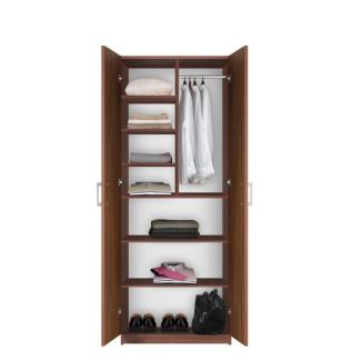 Bella Wardrobe Storage Armoire - Modern Wardrobe Storage