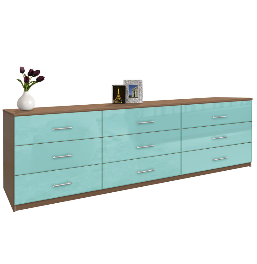Honey Or Natural Colored Tv Consoles  Long