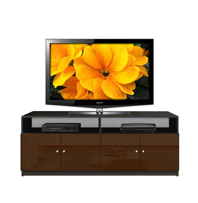 Honey Or Natural Colored Tv Consoles
