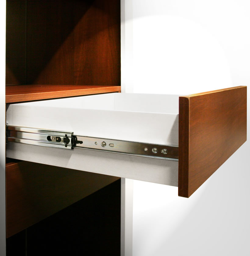 Full Extension Drawer Slide Per Drawer Contempo Space