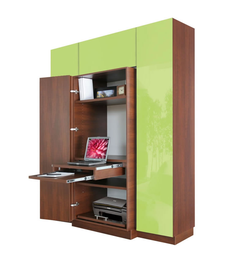 haley computer armoire plus home office storage contempo. Black Bedroom Furniture Sets. Home Design Ideas