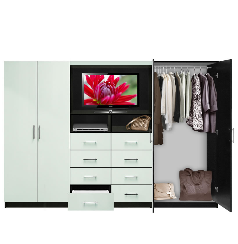 Aventa TV Wall Unit For Bedrooms