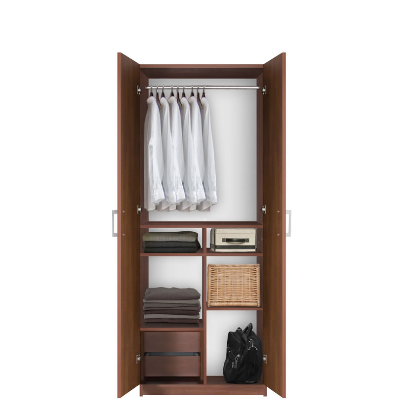 Wardrobe Closet With Tv Space