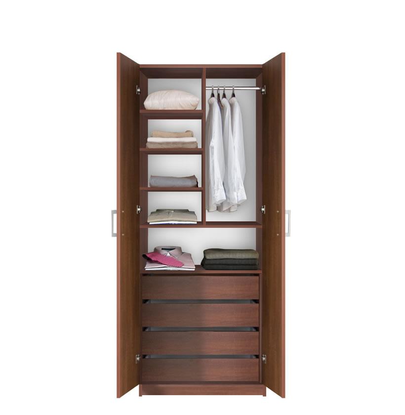 Bella Bedroom Armoire - Double Doors Armoire