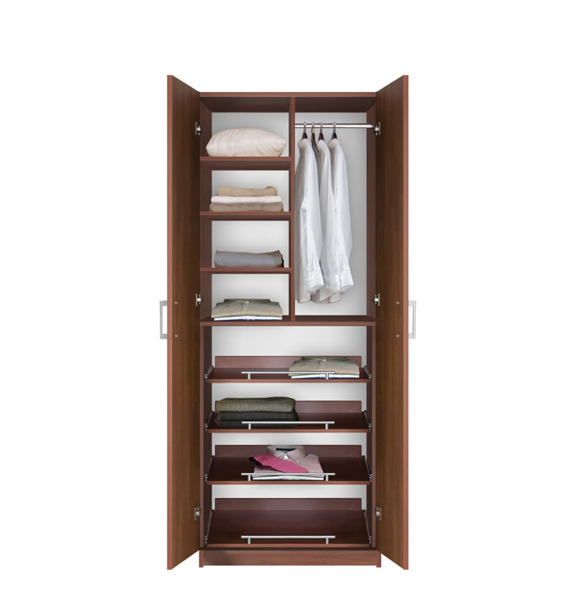 Bella Supreme Wardrobe Storage 7 Foot Closet With