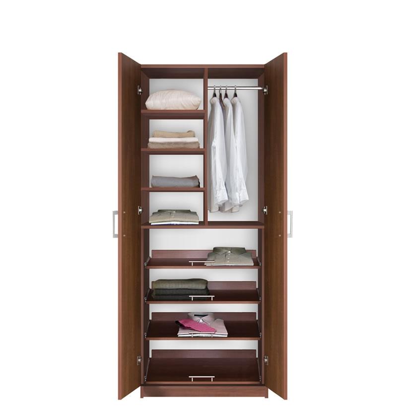 Bella Supreme Wardrobe Storage 7 Foot Closet With