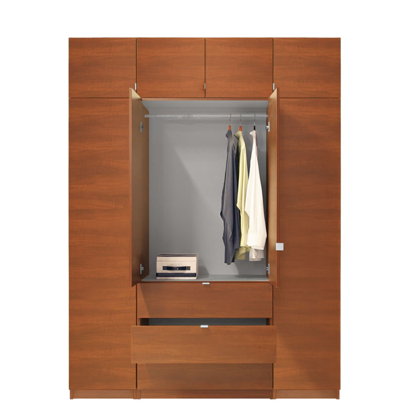 alta armoire plus closet package tall contempo space. Black Bedroom Furniture Sets. Home Design Ideas