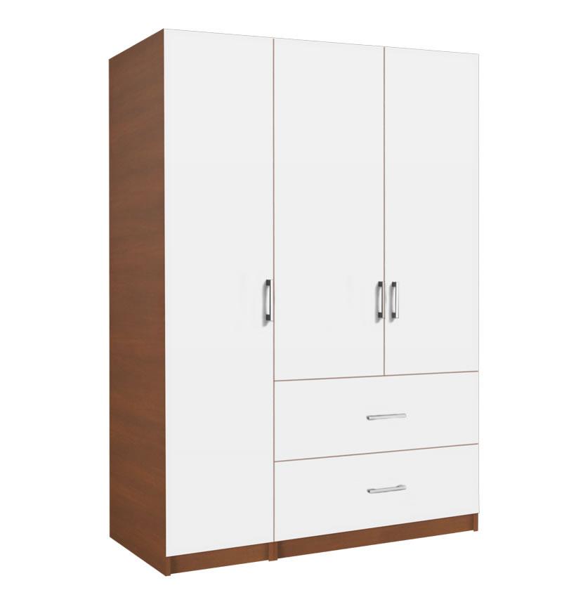 Alta Wardrobe Armoire Package - 3 Door, 2 Drawer Package ...