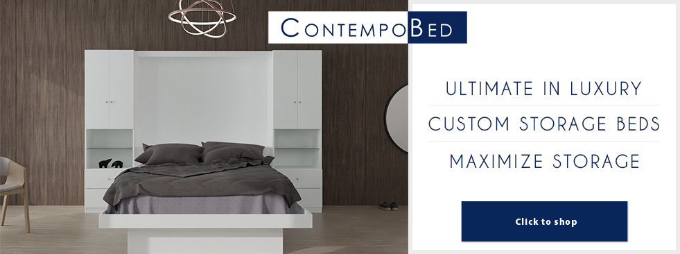 ContempoBed Custom Storage Bed
