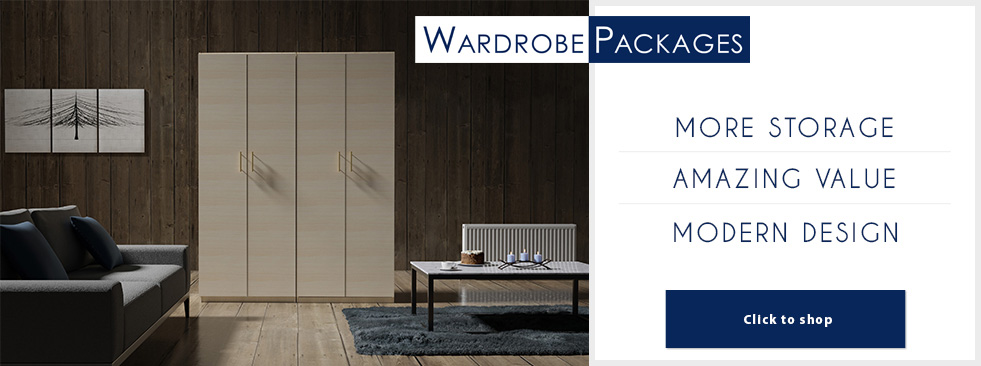 Wardrobe Closet Packages
